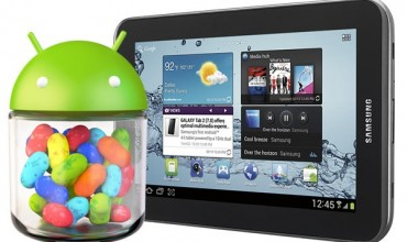 Samsung Galaxy Tab 2 7.0 ontvangt Android 4.1.2 Jelly Bean update