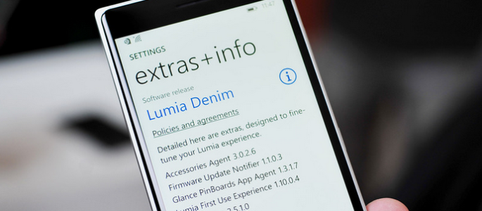 Lumia Denim Update