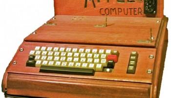 Apple's eerste computer wordt op 9 oktober geveild
