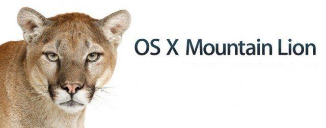 Os X Mountain Lion Version