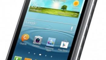 Samsung kondigt water- en zandbestendige Galaxy Xcover 2 aan