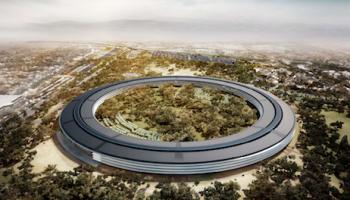 Apple's Spaceship campus pas in 2016 klaar