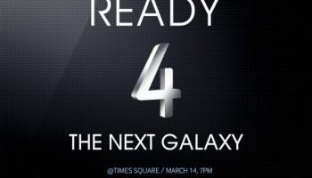 Samsung nodigt iedereen uit voor Galaxy S4 presentatie op Times Square