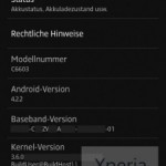 xperia z android 4.2