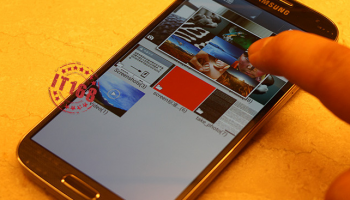 Meer foto's verschenen van Samsung Galaxy S4