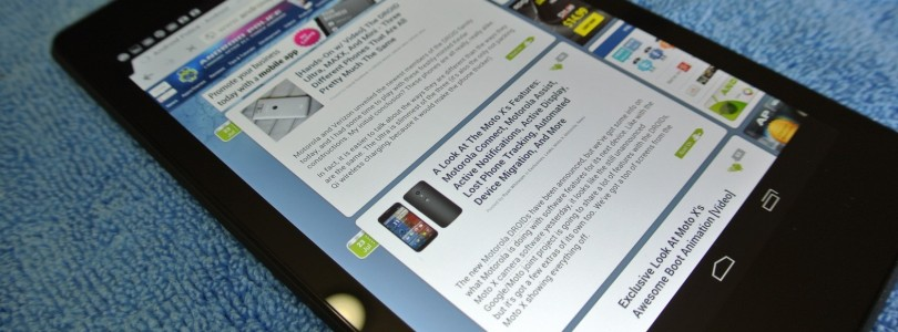 Nexus 7: Hands-on video, foto's en benchmarks