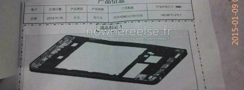Nieuwe Xiaomi Mi 5 krijgt superdunne behuizing
