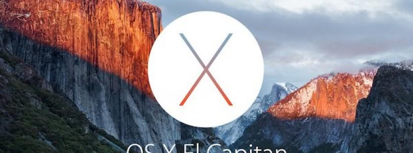 Derde OS X 10.11 El Capitan bèta nu beschikbaar