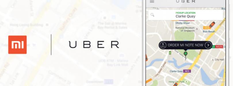 Uber gaat Xiaomi smartphones afleveren in Azië