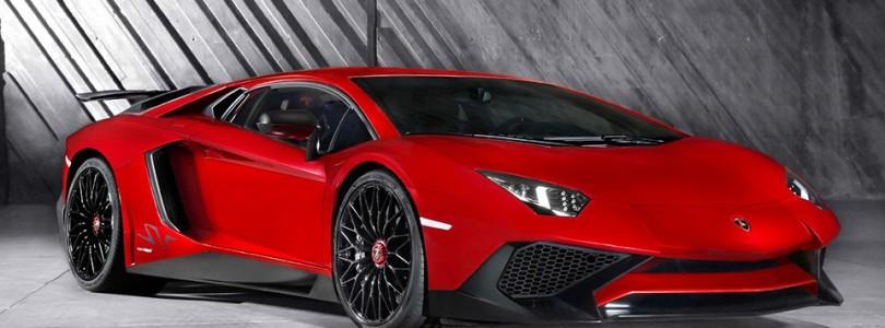 Lamborghini Aventador Superveloce van 0 naar 100 in 2,9 seconden