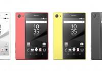 Sony Xperia Z5 en Xperia Z5 Compact officieel aangekondigd