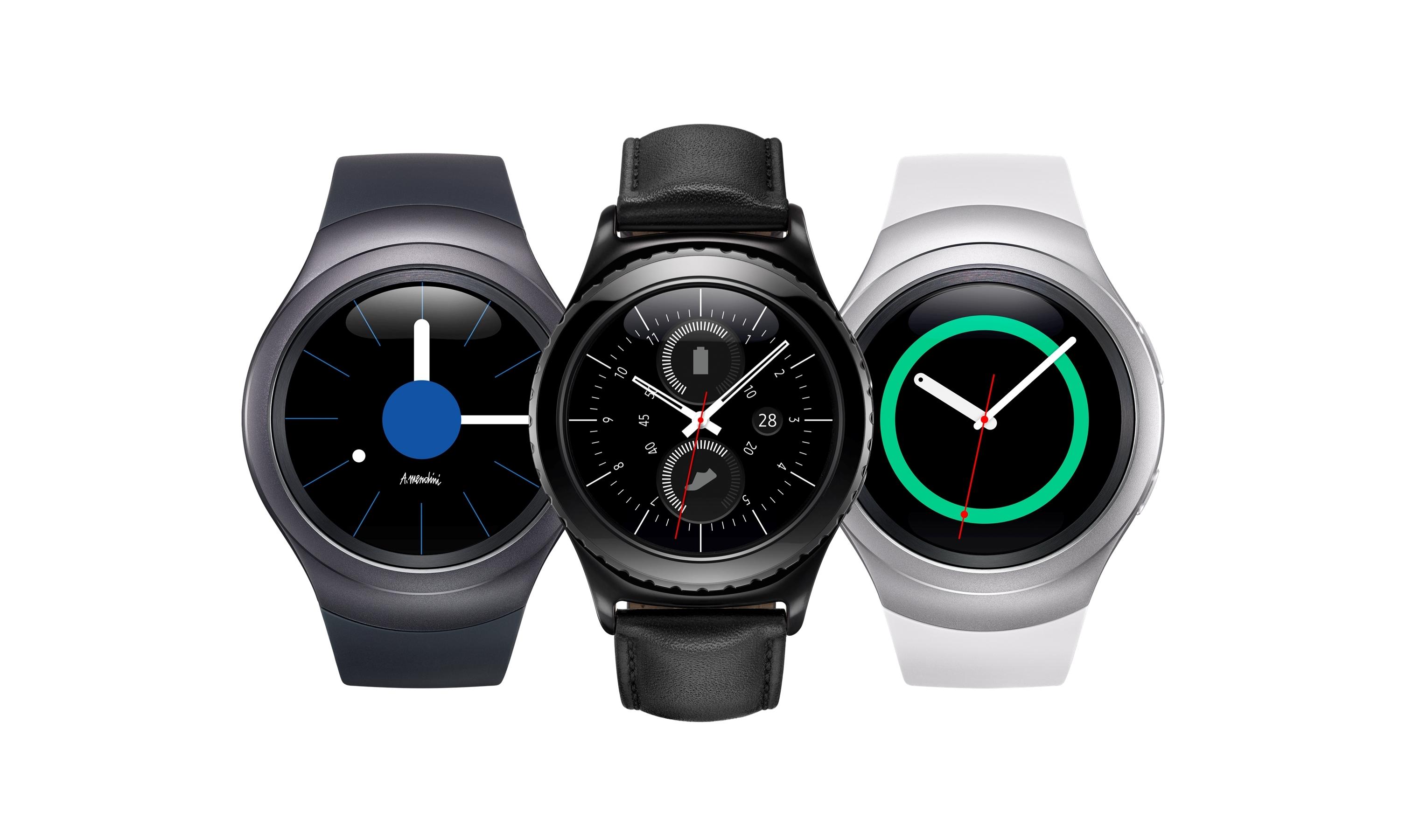 Samsung gear s2 krijgt ook iphone ondersteuning for Watches gear