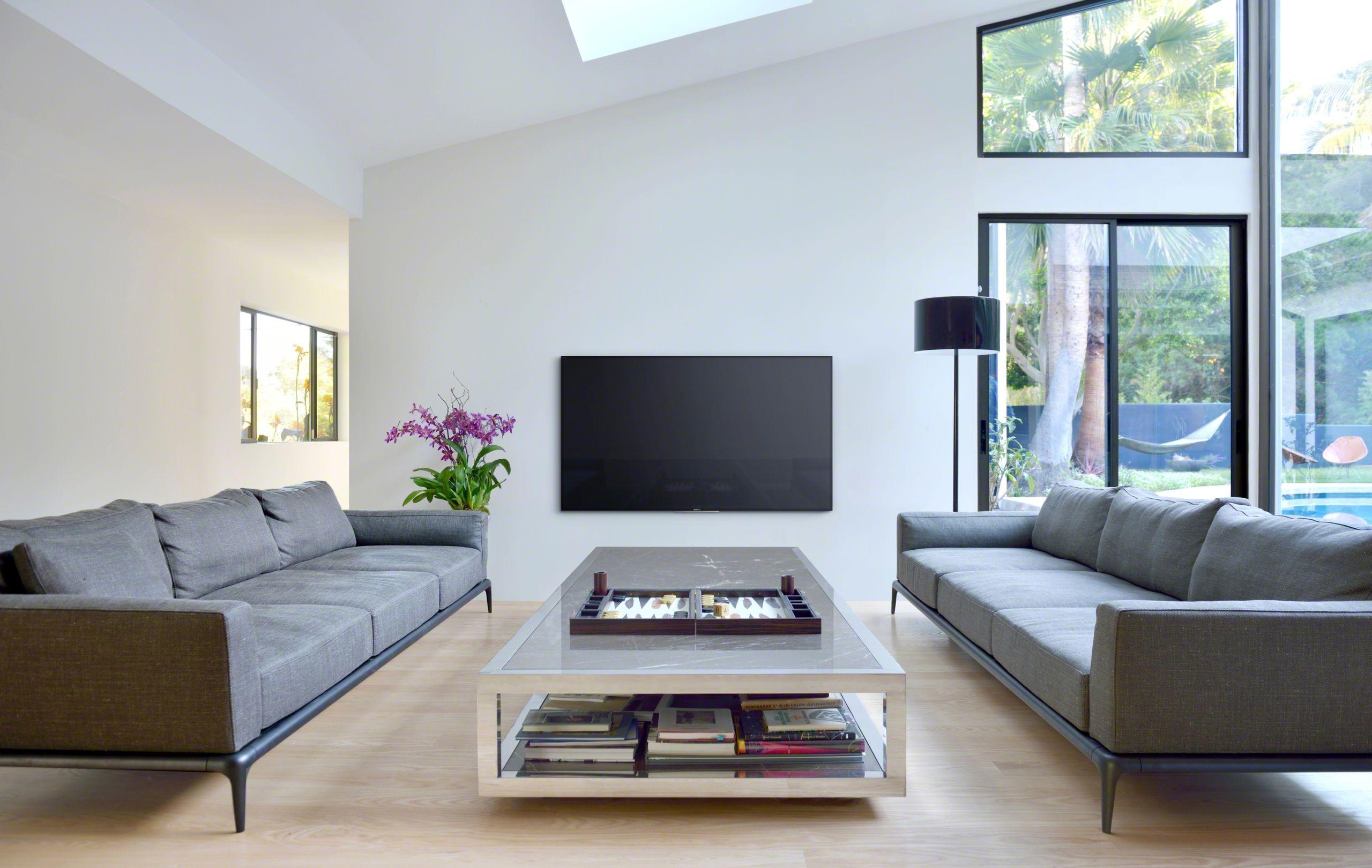 Dit zijn de nieuwe sony bravia televisies met hdr en for Living room with 65 inch tv