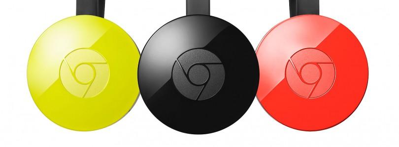Google Chromecast heet voortaan Google Cast