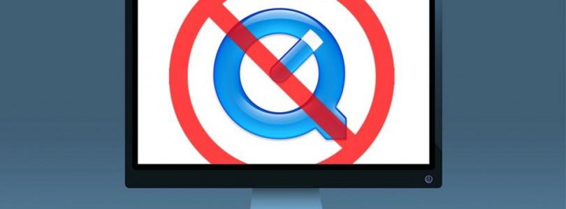 Apple bevestigt einde van QuickTime voor Windows