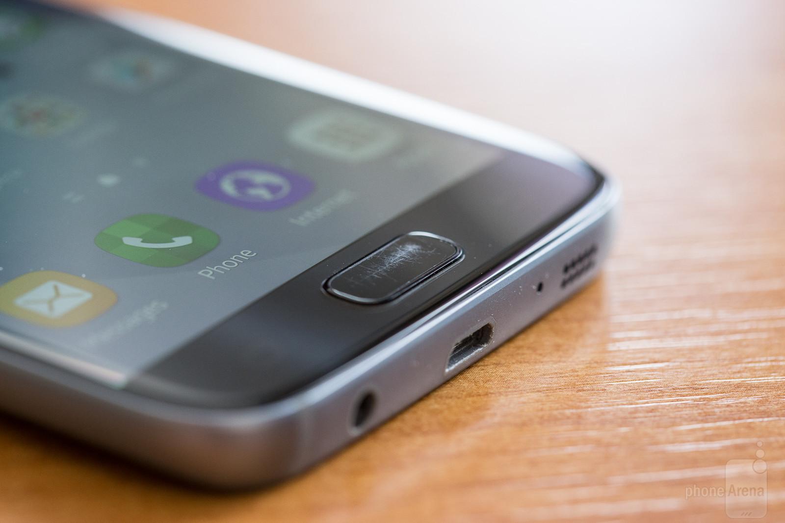 Thuisknop Van Galaxy S7 En S7 Edge Blijkt Snel Te Krassen