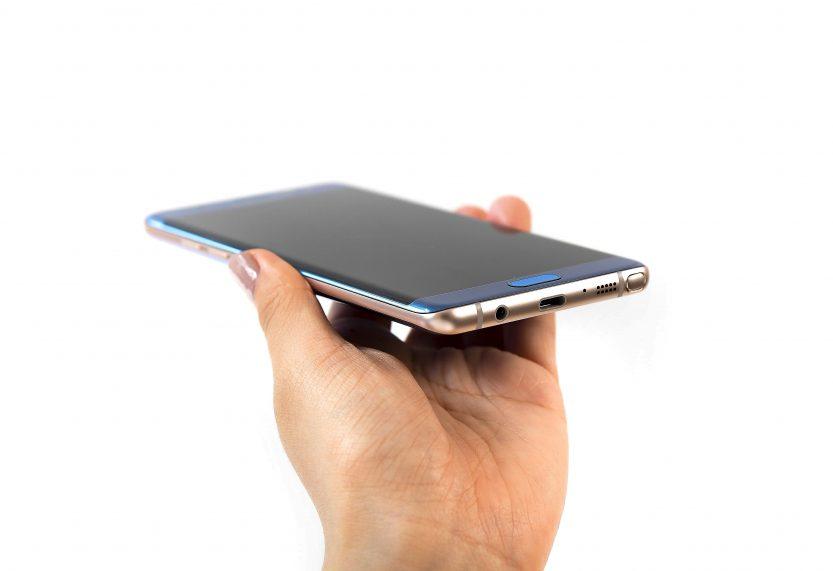 Schematische tekening toont vermeend Samsung Galaxy Note 8-ontwerp