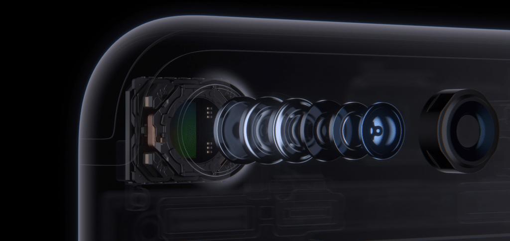 iphone 7 en 7 Plus camera