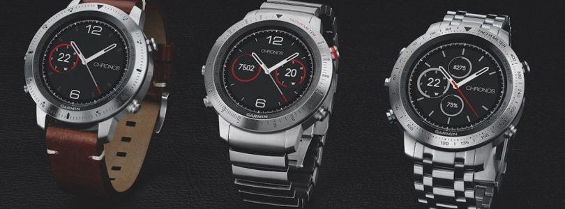 Garmin komt met luxe smartwatch Fenix Chronos