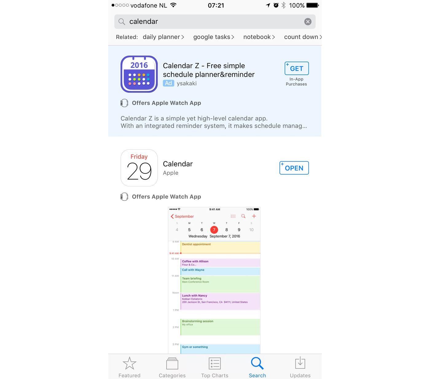 meest populaire aansluiting apps 2016