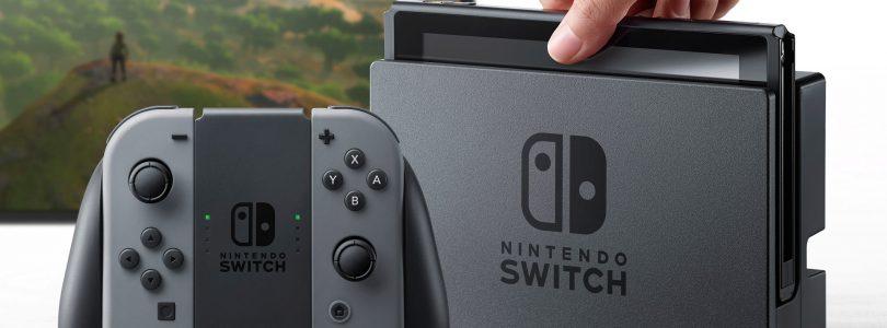 Slechts vier launch-games voor Nintendo Switch