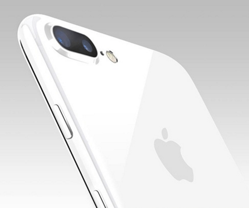 iPhone 7 Plus in 'Jet White'