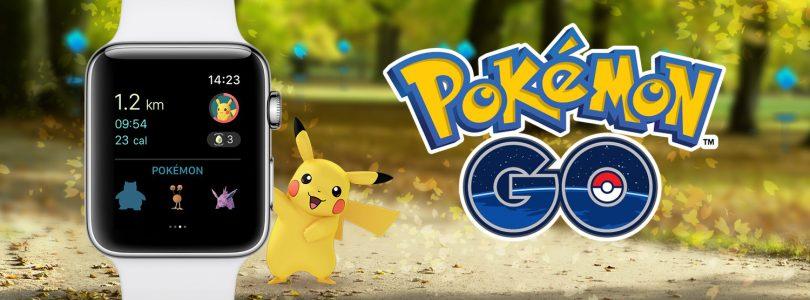 Pokémon Go-app voor Apple Watch uitgebracht