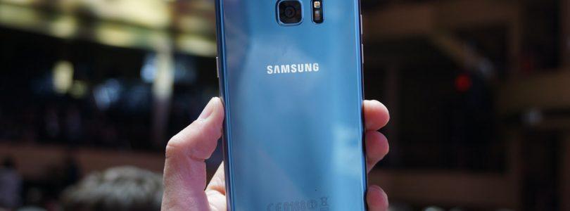 Galaxy S7 Edge nu te koop in Blue Coral; Android 7.0 komt volgende week