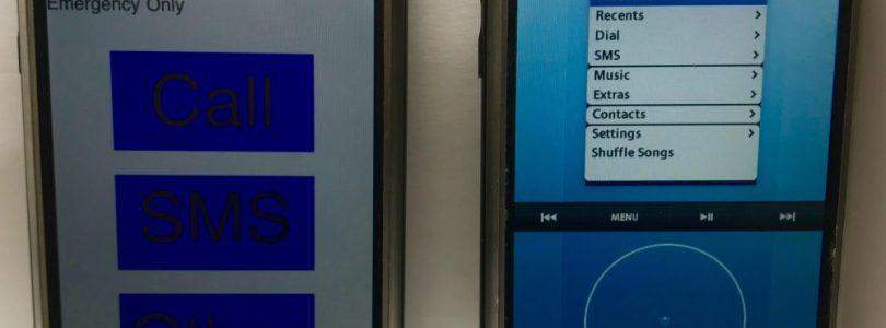 Video toont verschillende interfaces van originele iPhone