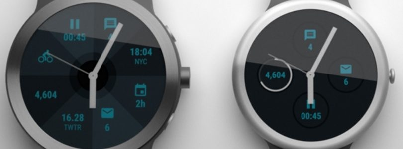 Persafbeeldingen tonen LG Watch Sport en Watch Style