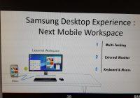 Samsung Galaxy S8 kan mogelijk worden ingezet als desktop
