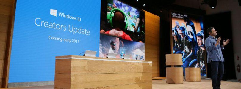 Windows 10 Creators Update wordt in april uitgerold