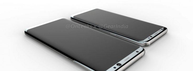 Samsung Galaxy S8 en S8+ beschikken beide over gekromd scherm
