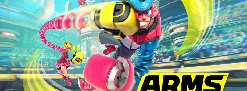 ARMS voor Nintendo Switch nu beschikbaar