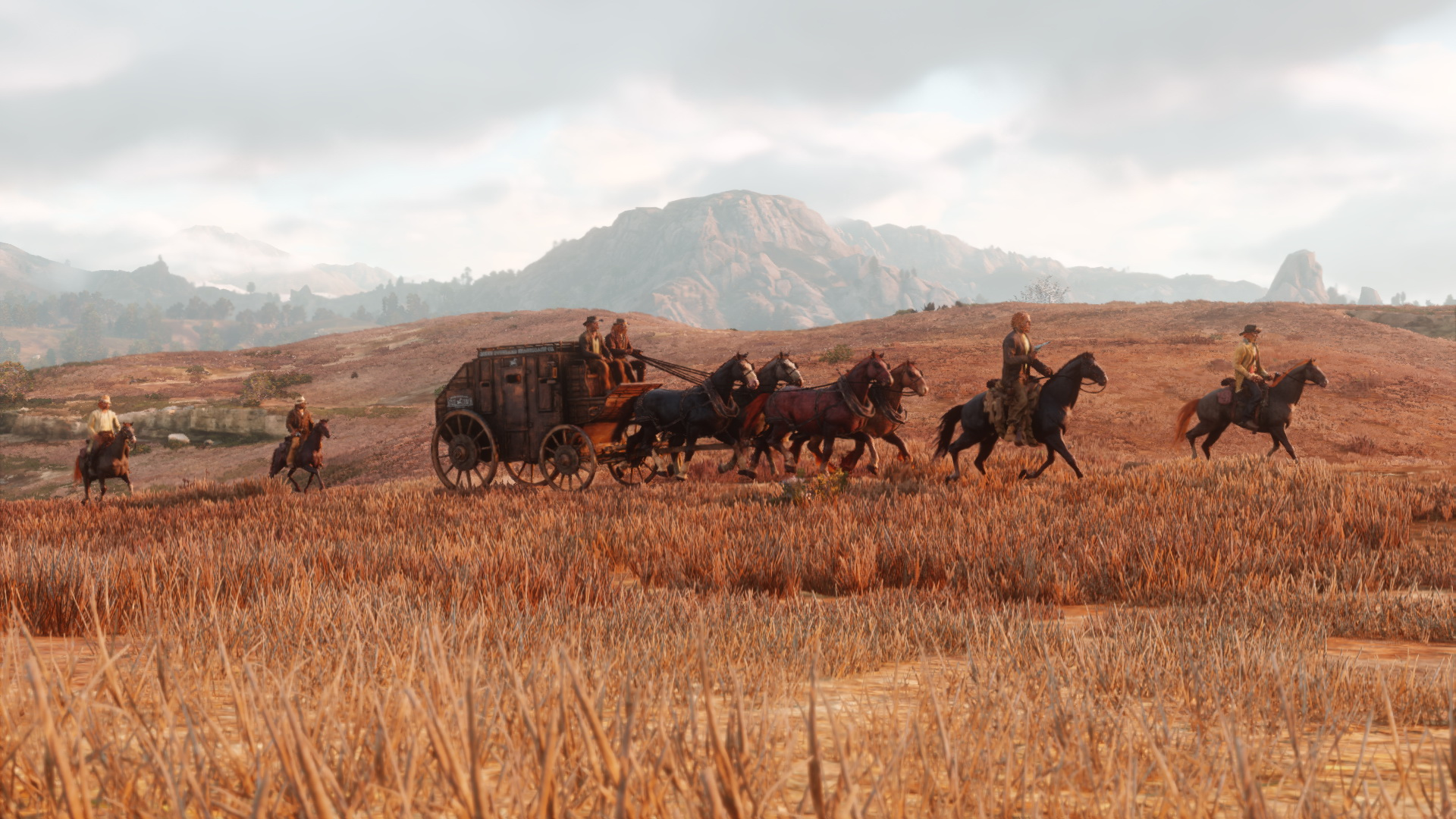 Een screenshot van Red Dead Redemption 2.