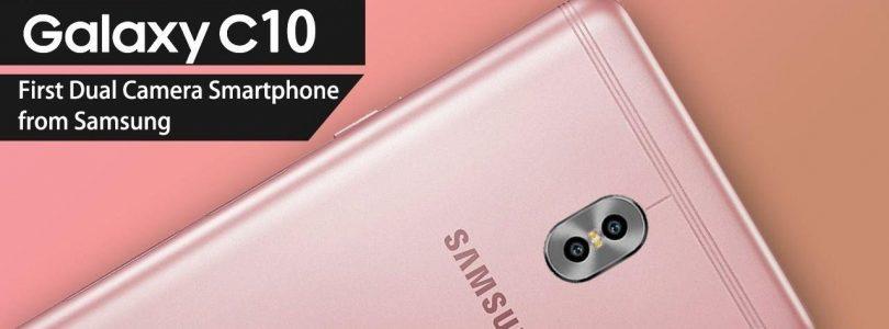'Galaxy C10 krijgt een dubbele camera, net als Galaxy Note 8'