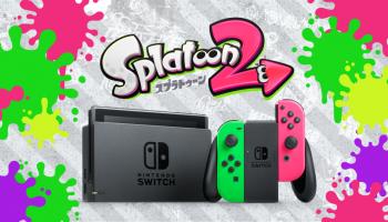 Nintendo Switch Splatoon 2-bundel straks ook verkrijgbaar als lege doos