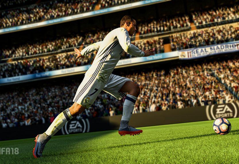 Nieuwe trailer FIFA 18 toont skills van Cristiano Ronaldo