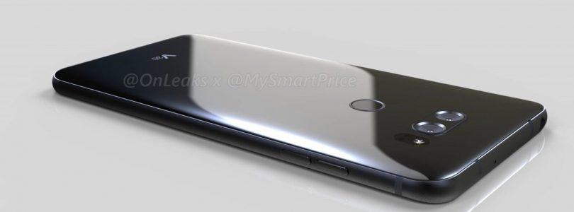 Nieuw lek toont LG V30-ontwerp, wereldwijde lancering