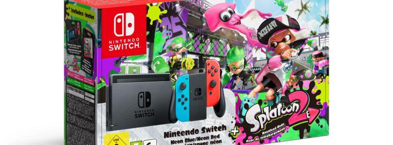 Nintendo Switch-bundel met Splatoon 2 nu op voorraad