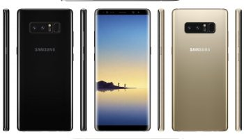 Dit is de Samsung Galaxy Note 8 in Deep Sea Blue