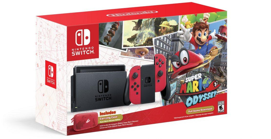 Nintendo Switch-bundel met Super Mario Odyssey nu beschikbaar voor pre-order