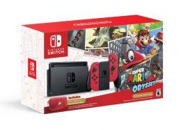 Switch-bundel met Super Mario Odyssey aangekondigd, nieuwe gameplaybeelden