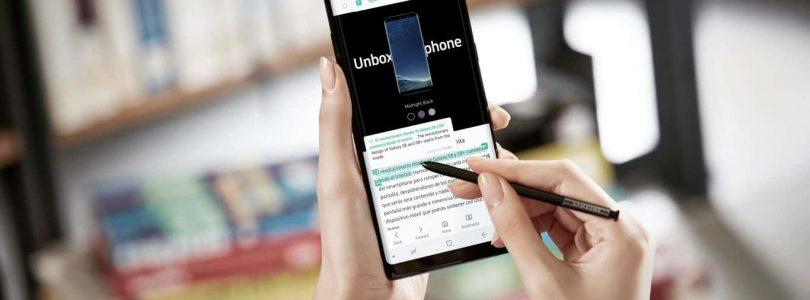 Samsung Galaxy Note 8 nu beschikbaar in Nederland