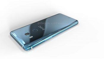 Renders tonen HTC U11 Plus