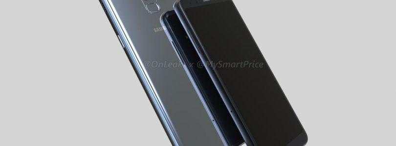 Renders van Samsung Galaxy A5 en A7 (2018) gepubliceerd
