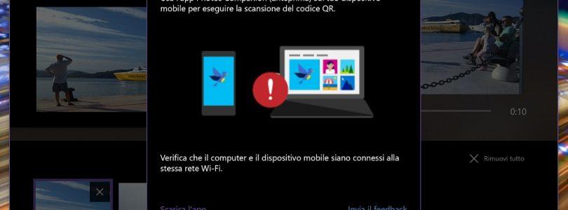 Foto's van iOS en Android versturen naar Windows 10 wordt makkelijker