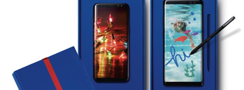Extra inruilkorting bij aanschaf Samsung Galaxy S8 en Note 8