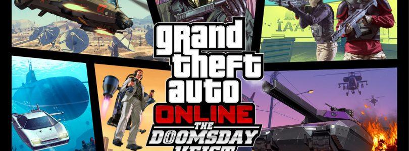 The Doomsday Heist nu beschikbaar voor Grand Theft Auto V