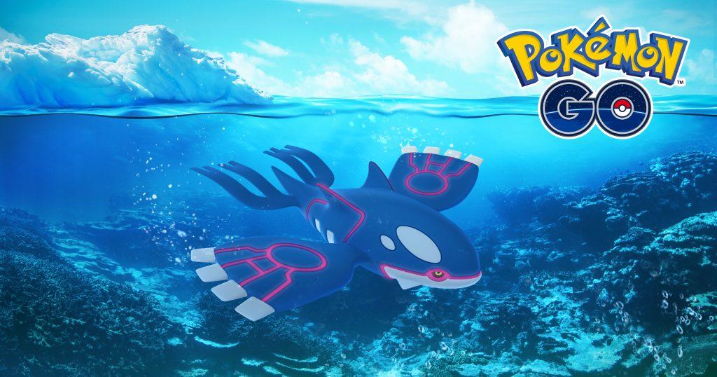 Legendary Pokemon Go Kyogre